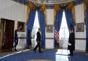 Новости США - присяга Обамы - Обама принял присягу в Белом доме - президент США