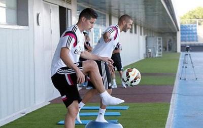 Звезда Реала приступил к работе с мячом после перелома ноги