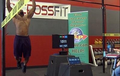 Американец установил мировой рекорд в подтягивании