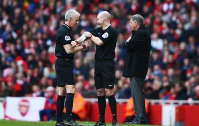 У матчі англійської Прем єр-ліги замінили головного арбітра