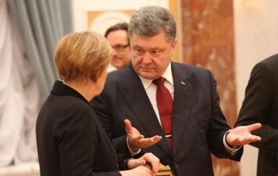 Порошенко приехал в Германию на встречу с Меркель