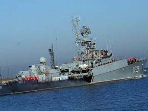 Корвет Тернопіль вышел из Севастополя для участия в антитеррористической операции НАТО