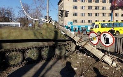 В Донецкой области ограничат движение боевой техники