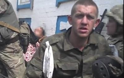 СБУ показала видео с российскими срочниками на Донбассе