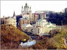 Киев начинает реконструкцию Андреевского спуска