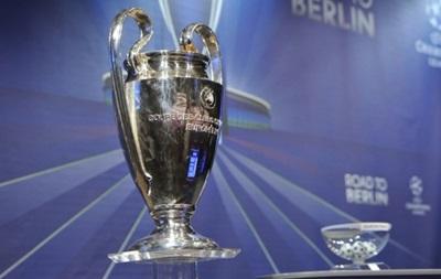 Жеребьевка Лиги чемпионов: Онлайн