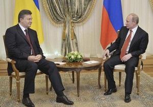 Янукович: Украина по-прежнему настаивает на создании трехстороннего газового консорциума