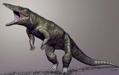 Останки древнего прямоходящего крокодила найдены в США
