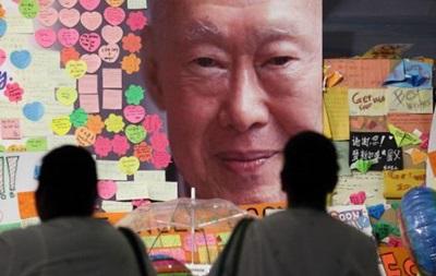 Помер  засновник  Сінгапуру Лі Куан Ю