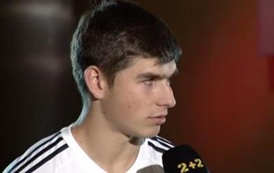 Малиновский: Я с детства мечтал играть за сборную Украины