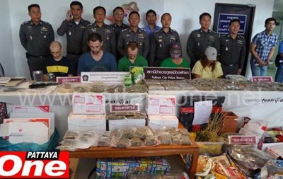 В Таиланде у троих россиян обнаружили 17 кг марихуаны