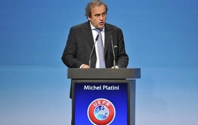 Мішеля Платіні переобрали на посаду президента UEFA