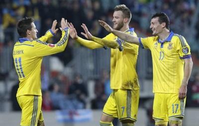 Збірна України вирушила на матч з Іспанією до Севільї
