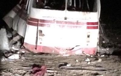 МВД расценивает взрыв автобуса под Артемовском как теракт
