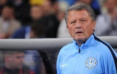 Главного тренера Днепра выписали из больницы
