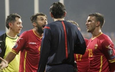 Росіяни вимагають зарахувати збірній Чорногорії технічну поразку