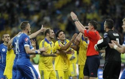 Сборная Украины - самая грубая команда отбора Евро-2016