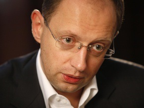 Арсений Яценюк стал лидером партии Фронт перемен (обновлено)