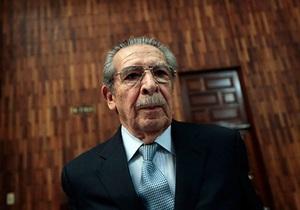 Обвинения в геноциде против экс-диктатора Гватемалы аннулировали