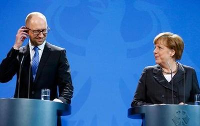 Меркель привітала реалізацію реформ в Україні