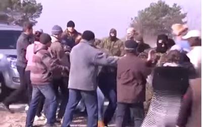 Правый сектор подрался с днепропетровскими селянами