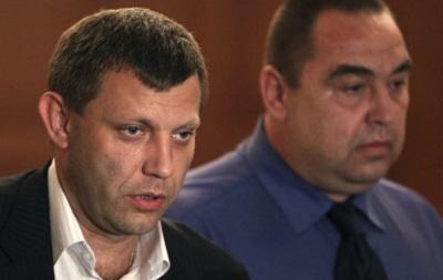 Главы сепаратистов пожаловались Меркель и Олланду на Киев