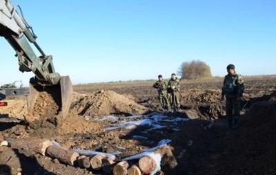 Первый пункт третьей линии обороны на Харьковщине построят к 20 апреля
