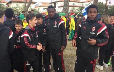 Чорношкірих гравців дитячої команди Мілана образили батьки суперників