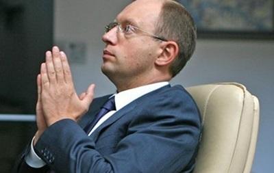 Яценюк указал более миллиона гривен доходов в 2014 году