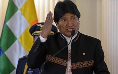 Президент Болівії готовий заявити про територіальні претензії до Чилі