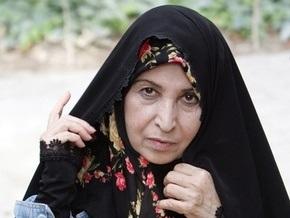 Жена лидера иранской оппозиции требует освободить задержанных участников акций протеста
