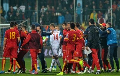 UEFA присудил сборной Черногории техническое поражение в поединке с Россией