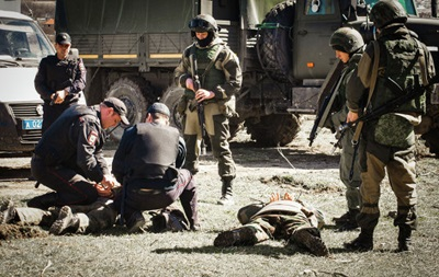 Внутрішні війська РФ провели навчання з  розгону Майдану