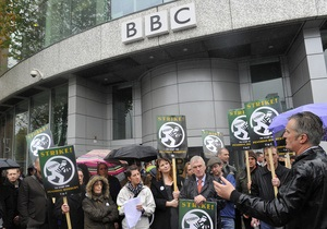 В Британии началась забастовка журналистов Би-би-си