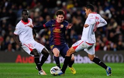 Севилья - Барселона 0:0 Онлайн трансляция матча чемпионата Испании