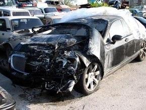 Водителя, сбившего на Bentley байкершу, увезут на лечение в Киев