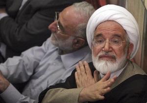 Лидер иранской оппозиции признал Ахмадинеджада легитимным президентом