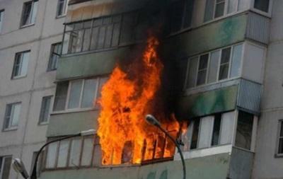 На Львовщине в результате пожара госпитализированы пять человек