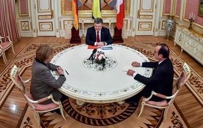 Порошенко поїде до Олланда обговорити виконання мінських домовленостей