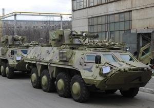 Украина планирует модернизировать БТР Топаз в Египте