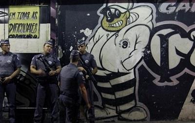 В ходе наркоразборок были застрелены 8 фанатов Сан-Паулу