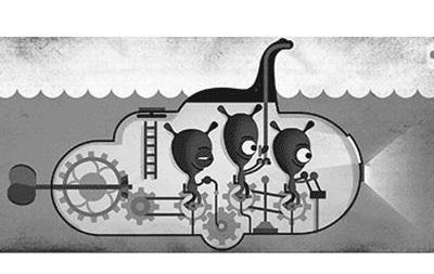 Google посвятил дудл лохнесскому чудовищу