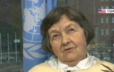 Мати Надії Савченко приїхала в ООН і написала лист Обамі