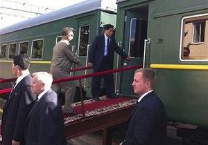 Полпред президента РФ рассказа о поездке в бронепоезде Ким Чен Ира