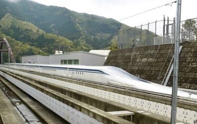 Японський поїзд побив власний рекорд швидкості