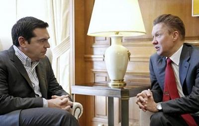Греція поки не отримає грошей від  Газпрому