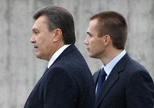 Сын Януковича заплатил за прошлый год 8,5 млн грн налогов
