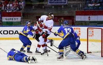 Сборная Украины по хоккею упустила победу над Венгрией