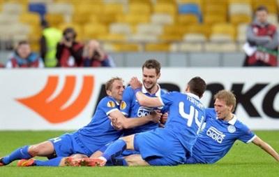 Защитник Динамо и два игрока Днепра вошли в сборную Лиги Европы