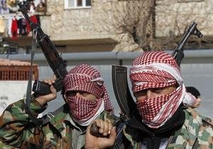 Конфликт в Сирии - бои под Дамаском